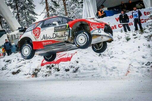 DS3 WRC #RallyeSuede2016