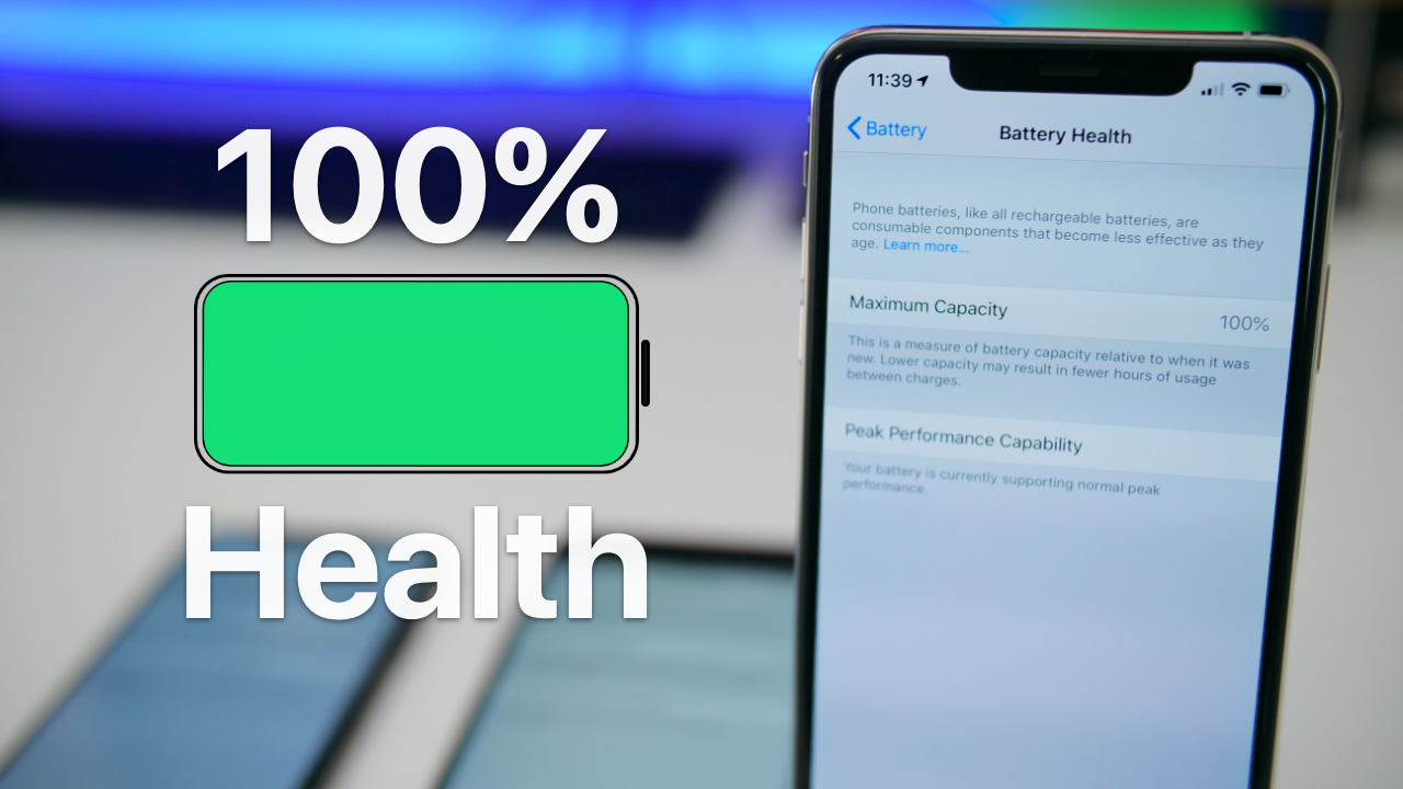 100 Percent Iphone Battery Health How I Do It Iphone Battery Iphone Battery Life Latest Anti Aging Products