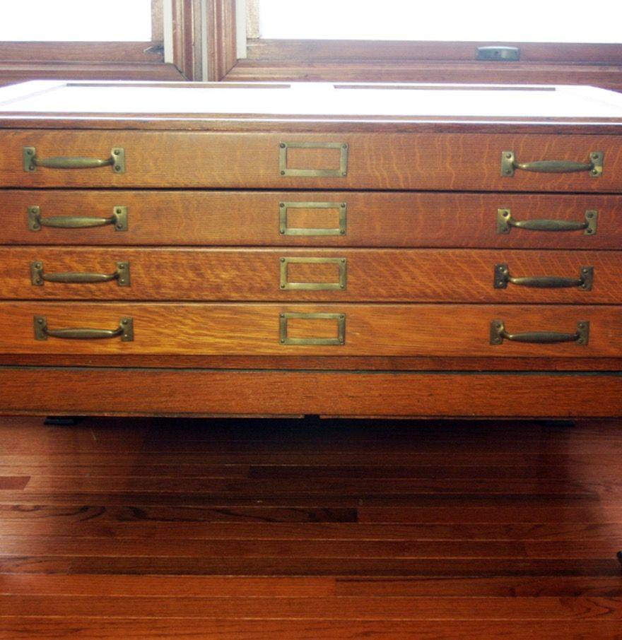 Antique Wood Flat File Cabinet - Antique Wood Flat File Cabinet Http://advice-tips.com Pinterest