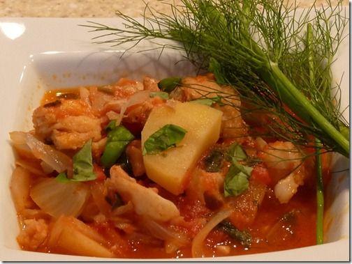 how to make baccala and potatoes