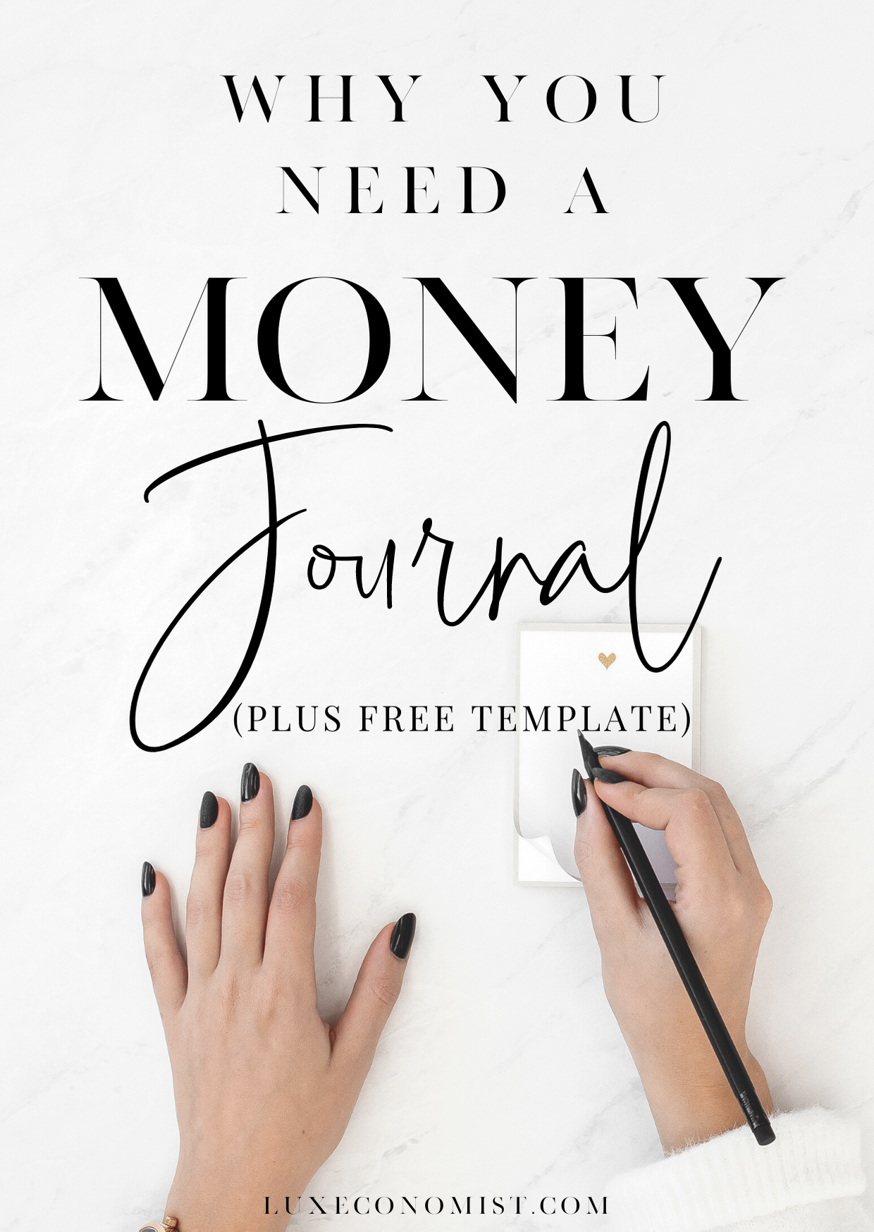 Why You Need A Money Journal In