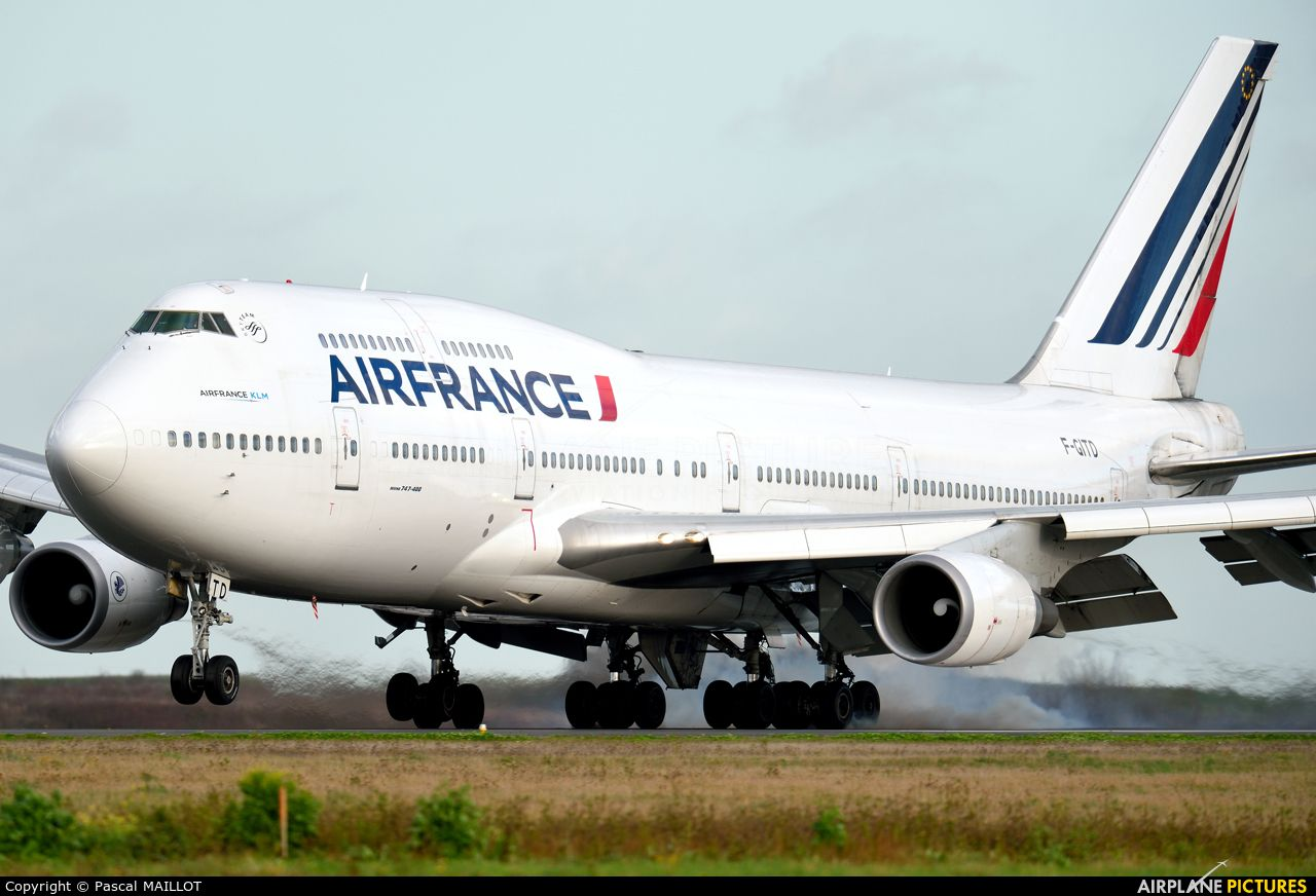 Vol Charter Air France F Gitd Aircraft At Paris Charles De Gaulle Photo