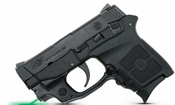New from Smith & Wesson M&P Bodyguard with Crimson Trace