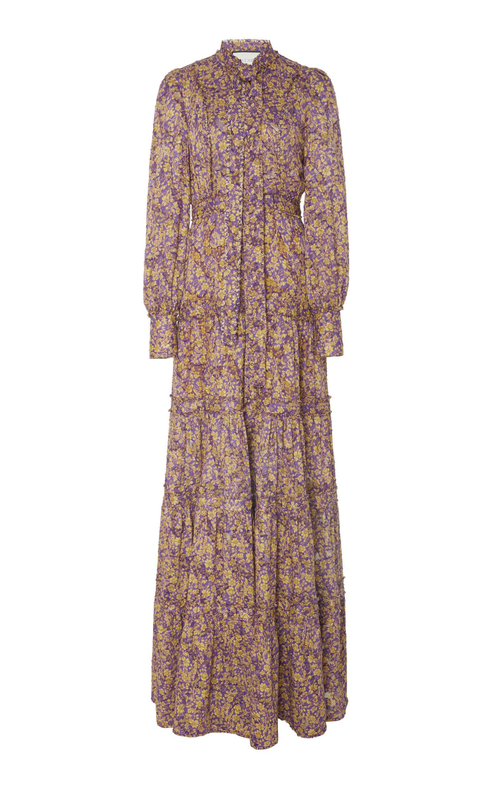 e593aecf181d42 Alexis Margeaux Floral Maxi Dress in 2019   fashion   Floral maxi ...
