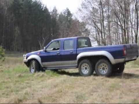 6x6 Pickup truck