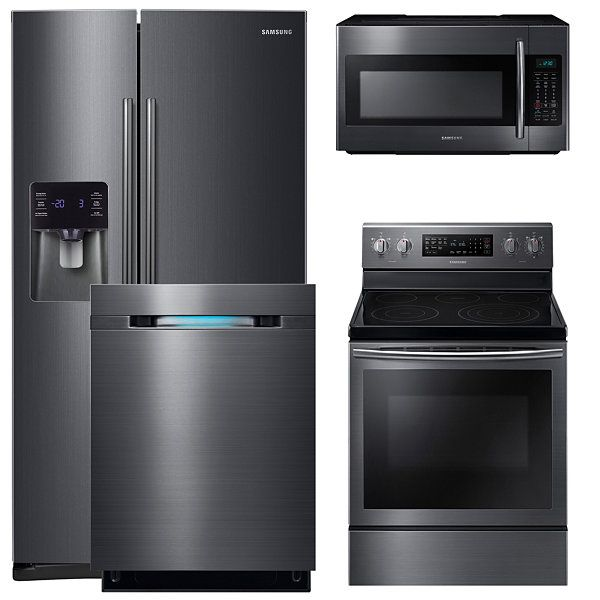 Samsung 4 Pc Electric Kitchen Package Jcpenney Kitchen