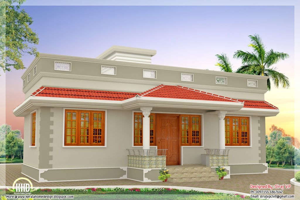 Budget Indian House Plans (With images) | Kerala house ...