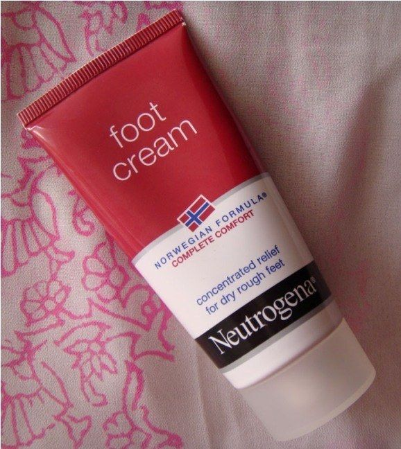 neutrogena foot cream review