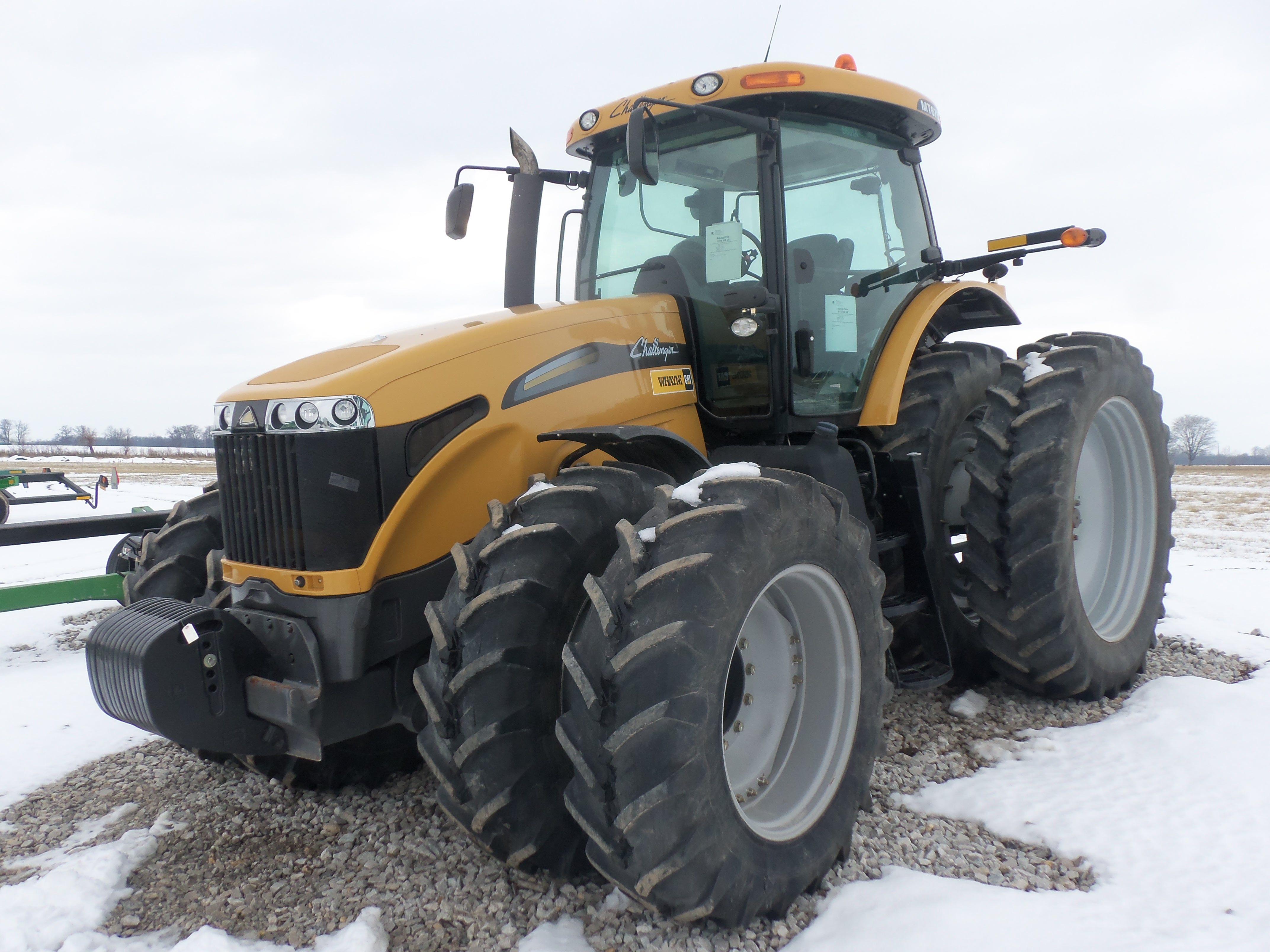 Challenger Mt675c Tractor Challenger Equipment