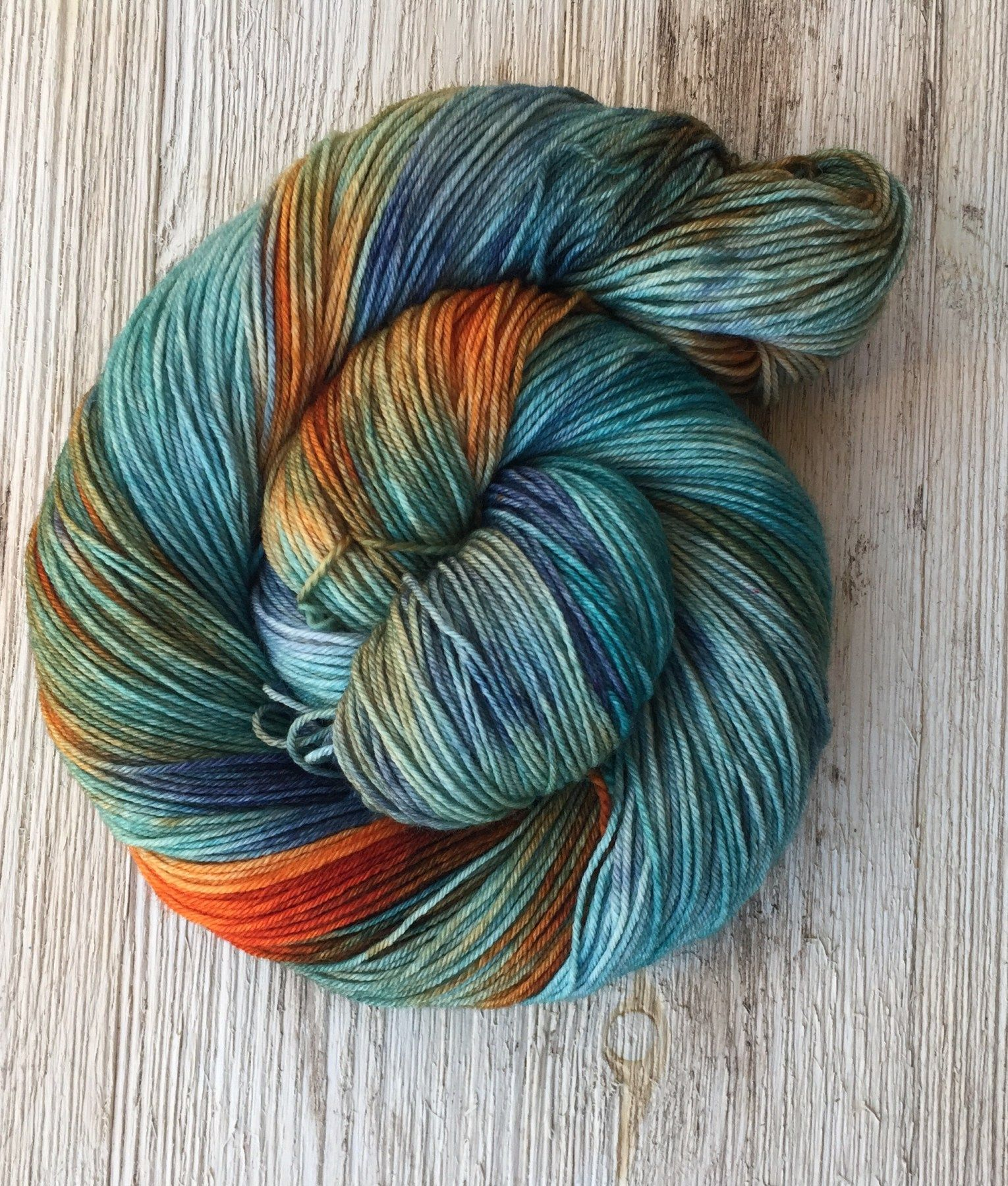 Online Price Venice Beach is a teal yarn with bursts of blues and burnt orange.  Variations can occur between skeins since they are all dyed one by one. It's recommended that you wash your…