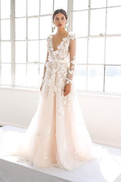 Brautkleider 2017: Die WOW-Kleider der New York Bridal Fashion Week ...