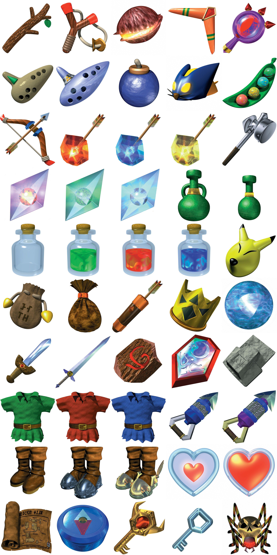 Ocarina Of Time Items Rendered 2020 Nintendo Source Code Gigaleak Zelda Tattoo Zelda Ocarina Of Time Tattoo Ocarina Of Time Tattoo