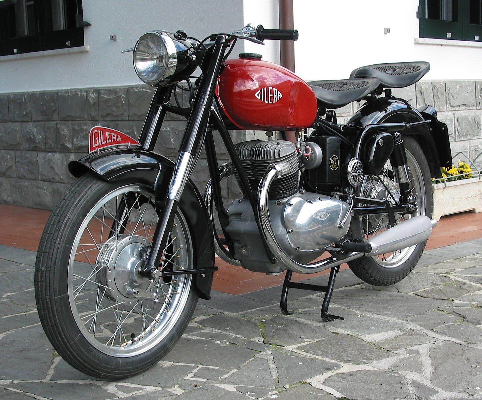 Moto Depoca Americane Anni 60 Gilera B300 Moto Depoca Anni 50 E