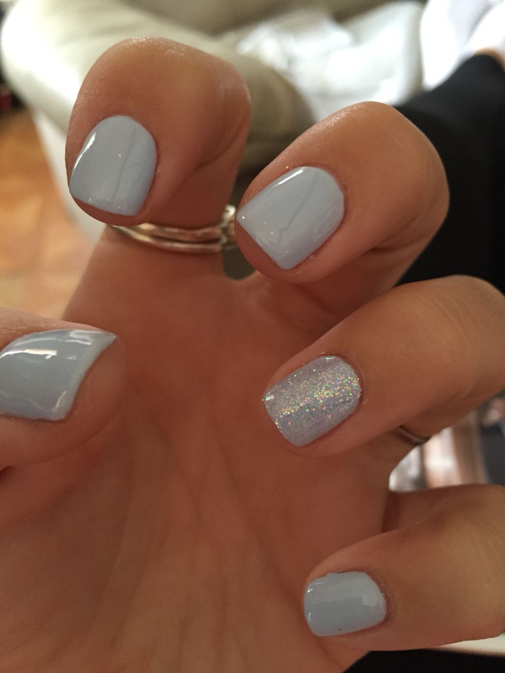 cnd #shellac #creekside done by angel at all about you in standish ...