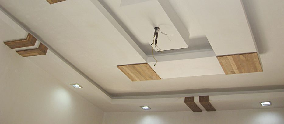 False Ceiling - Ceiling Fan Installation #ceilingfan #fan ...