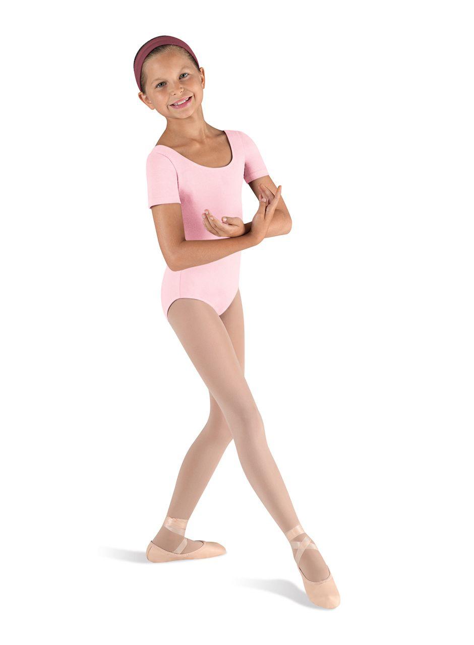 06a354b69 Kids Building Basics Short Sleeve Ballet Dance Leotard by Bloch in ...