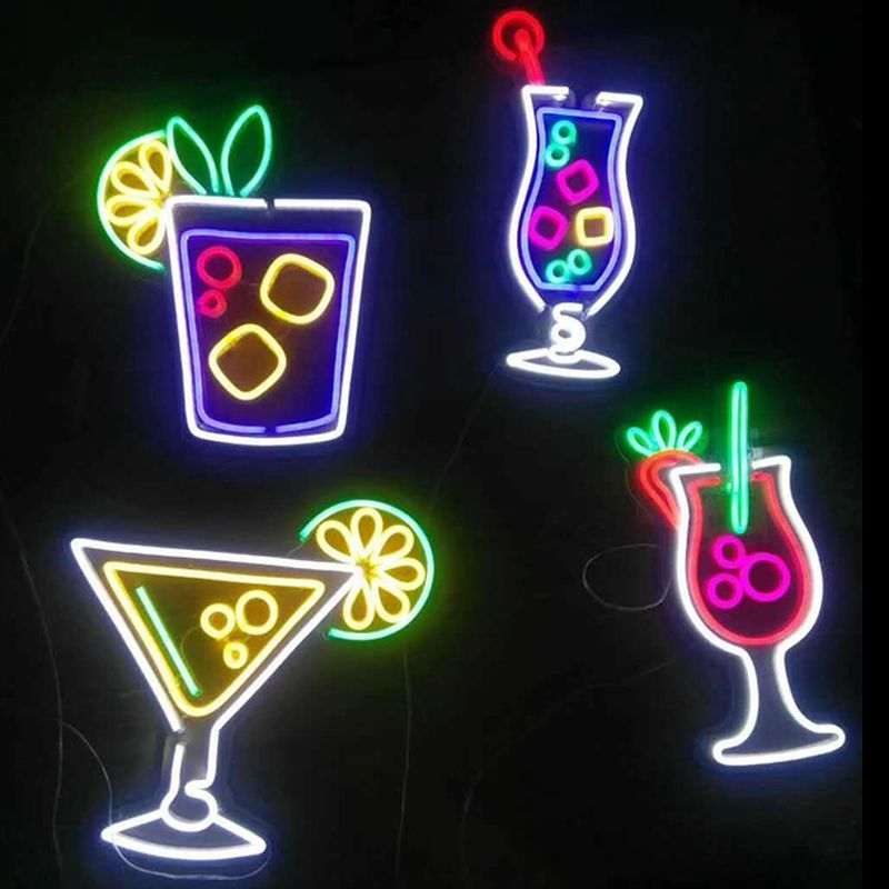 lighted bar signs for home in 2019 | Custom neon signs