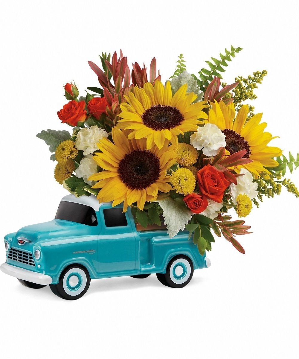 55 Chevy Pickup New Baby Flowers Father S Day Flowers Birthday Flowers