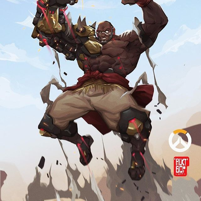 Finished Up Painting This Doomfist Fan Art Love This Character Maybe I Need To Pick Up Some Over Wa Overwatch Doomfist Overwatch Fan Art Overwatch Wallpapers