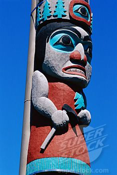 Totem Pole Oregon USA