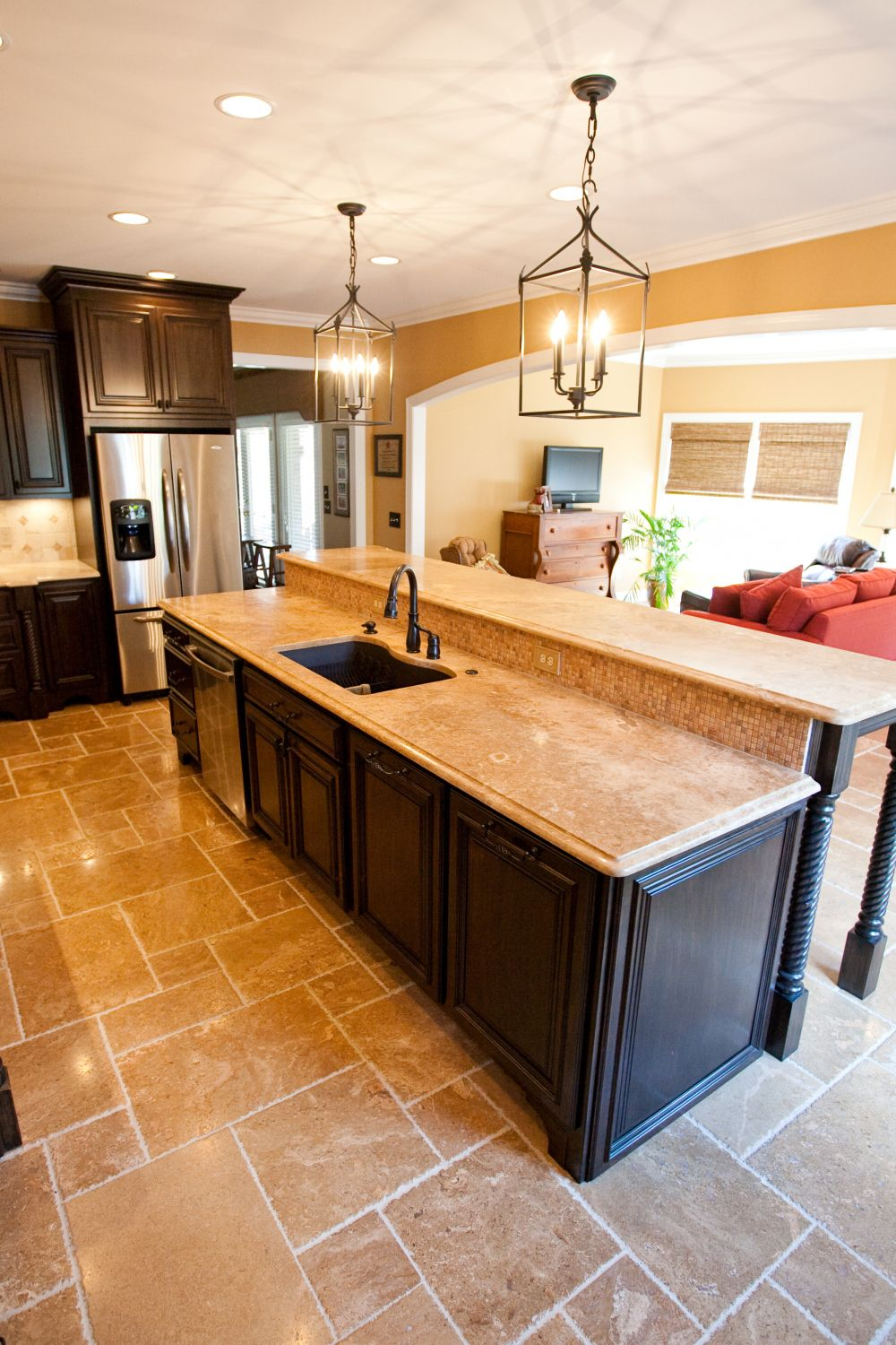 Pin by Annora on home interior Kitchen island bar