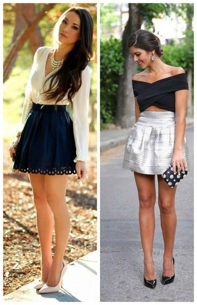 db6377fa5 Look de Invitada con Falda corta | Moda | Faldas cortas de moda ...