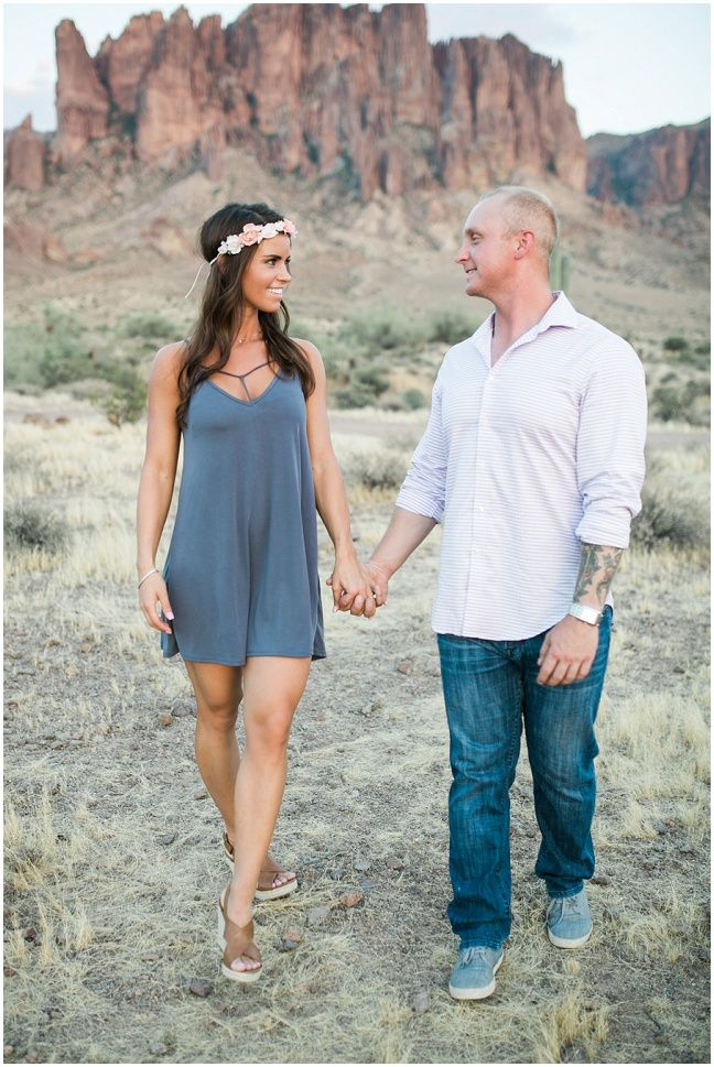 Ashley Freehan PhotographyKristen + Elliott | Lost Dutchman Engagement - Ashley Freehan