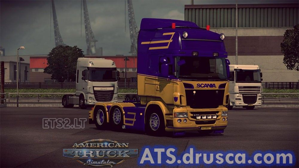 Scania Rjl Skin | ATS mods | American truck simulator, Trucks, Vehicles