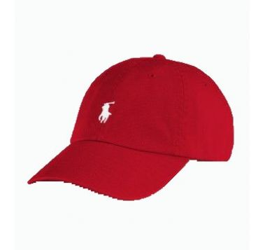 Red and White Polo Hat  7651b0bbebb