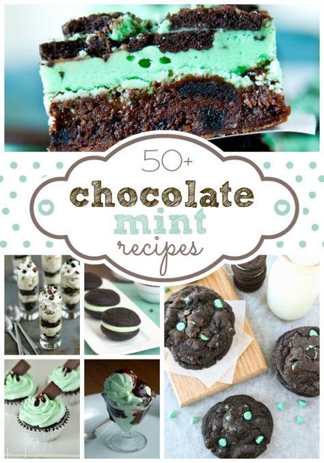 50 + Schokoladen-Minze Rezepte