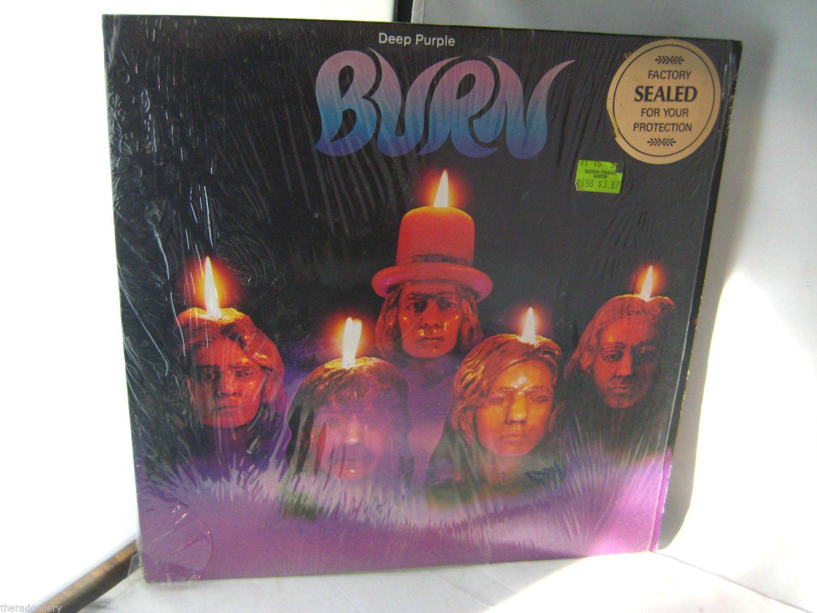 Deep Purple Burn Original First Press With Lyric Insert Lp Vinyl Nm Shrink Wrap