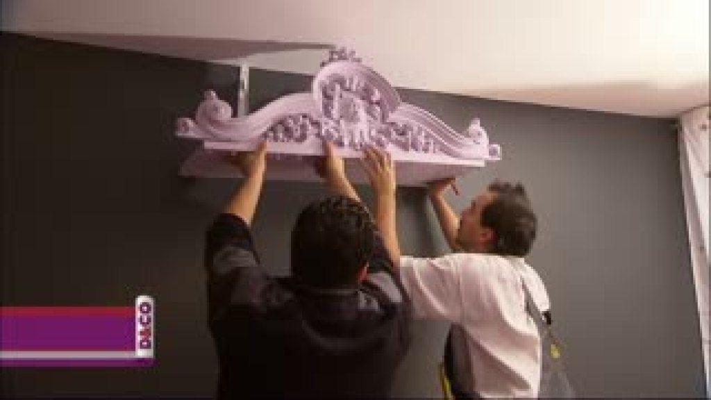 comment fabriquer un ciel de lit avec un fronton chambre pinterest ciel de lit ciel et lits. Black Bedroom Furniture Sets. Home Design Ideas