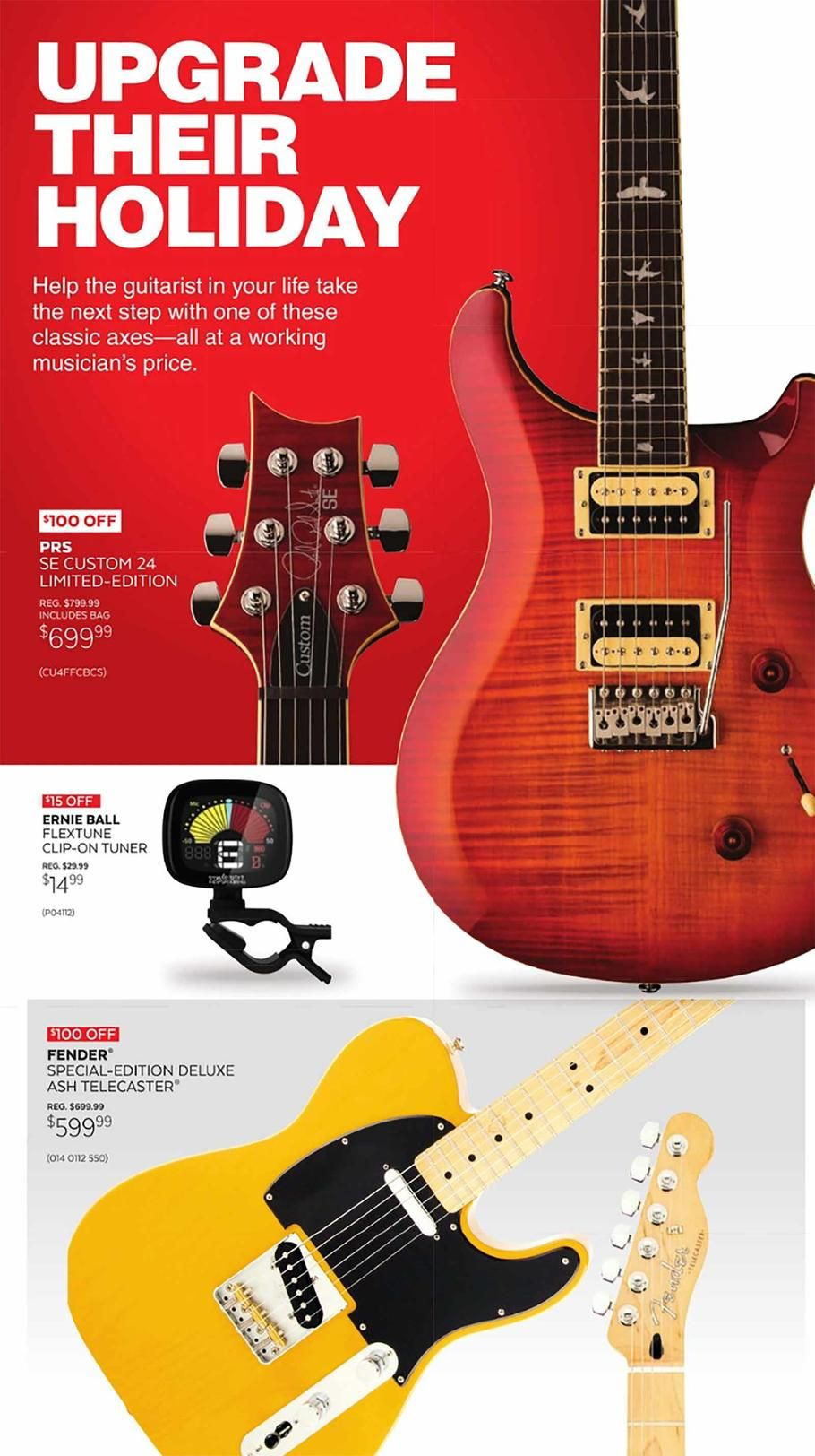 Guitar Center Holiday Book 2018 Ads Scan Deals And Sales See The