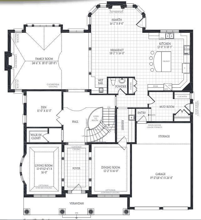 House Floorplan Practical Family Home Floorplan Ideas Floorplan Homesfloorplan Floorplanideas Dream House Plans House Floor Plans Luxury Interior Design