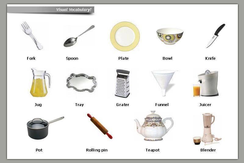 Pin By Silviya On Kitchen English Vocabulary Kitchen Design