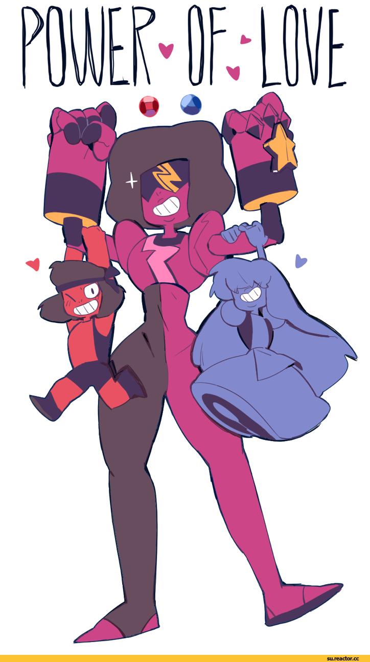 Steven universe garnet su su ruby su - Ruby and sapphire su ...