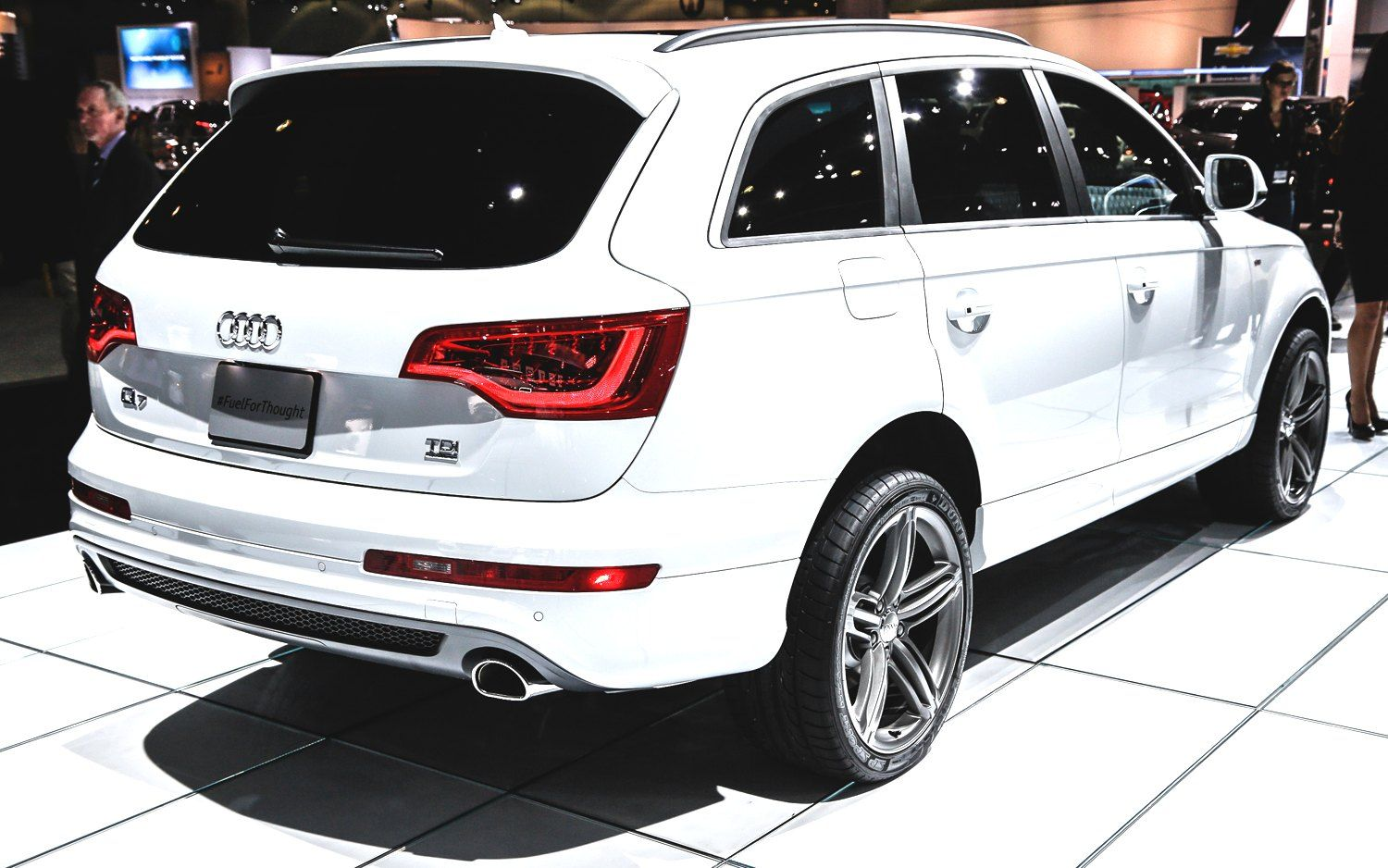 Audi suv 2014 my family car no vans for me