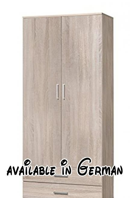 B01BM8C4DY : WILMES 40102-80 0 80 Mehrzweckschrank Holzwerkstoff ...