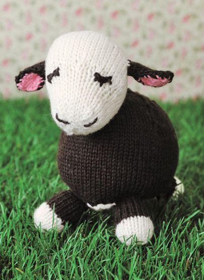 Free Knitting Pattern For Cow Toy Toy Softie 8 Tall 45 Wide 5