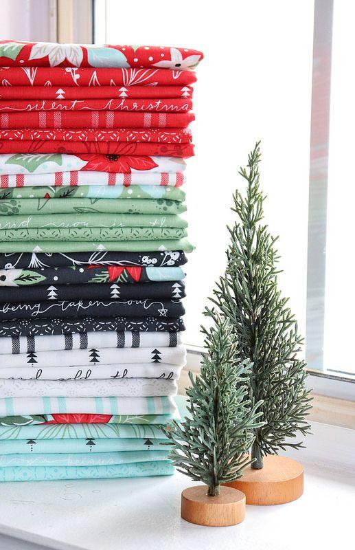 Moda Christmas Fabric 2019.Little Tree Moda Fabrics Love Tree Quilt Fabric