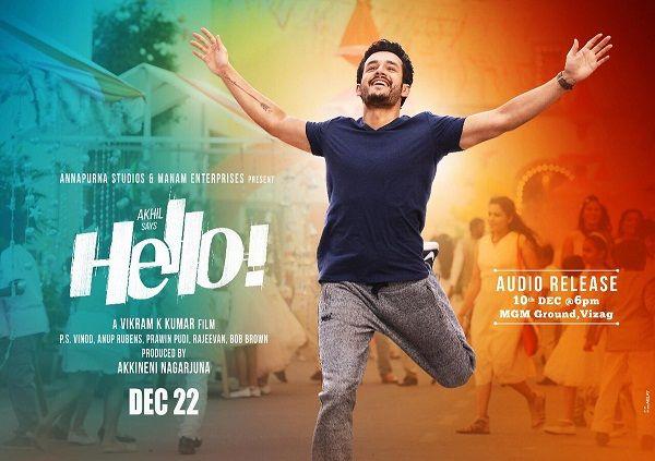 Akhil Akkineni Is All Set For The Hello Audio Launch In Vizag On 10th December Fansnstars Anil Hello Movie Song Lyrics New Lyrics