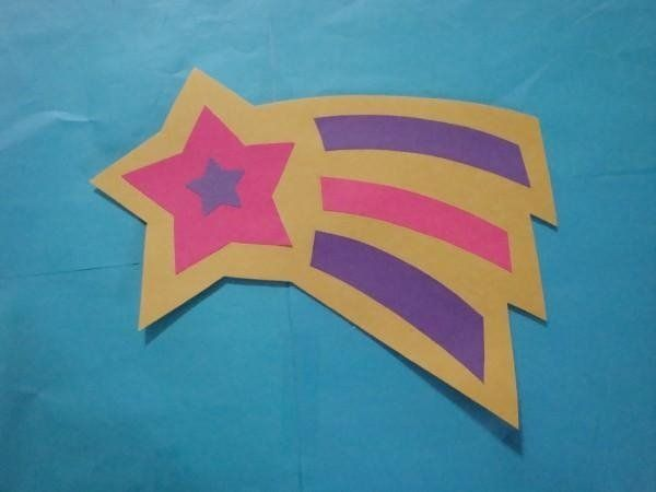 Space Craft star from shapes