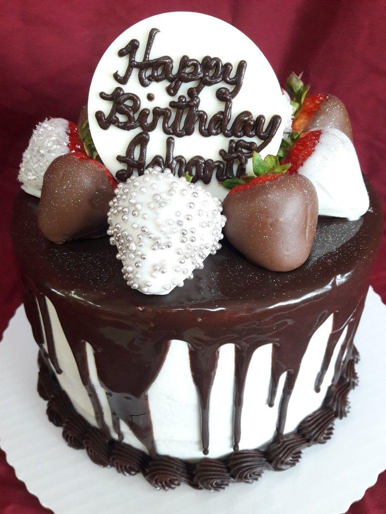 Chocolate Covered Strawberries Birthday Cake Strawberry Cakes