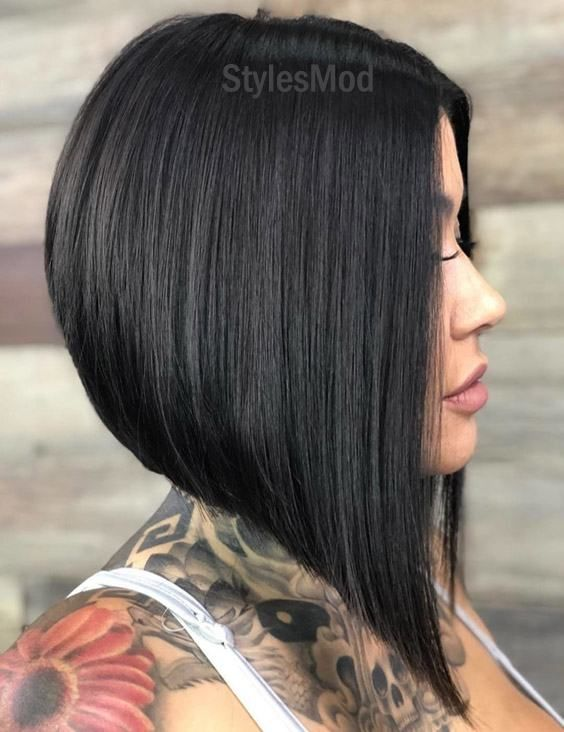 Gorgeous Stacked A Line Bob Haircut Trends That You Ll Love Thick Hair Styles Stacked Bob Haircut Stacked Bob Hairstyles
