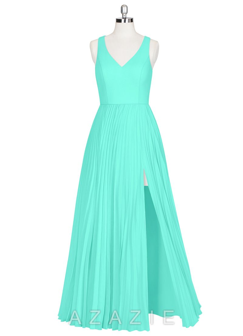 Shop azazie bridesmaid dress lindsey in chiffon find the perfect
