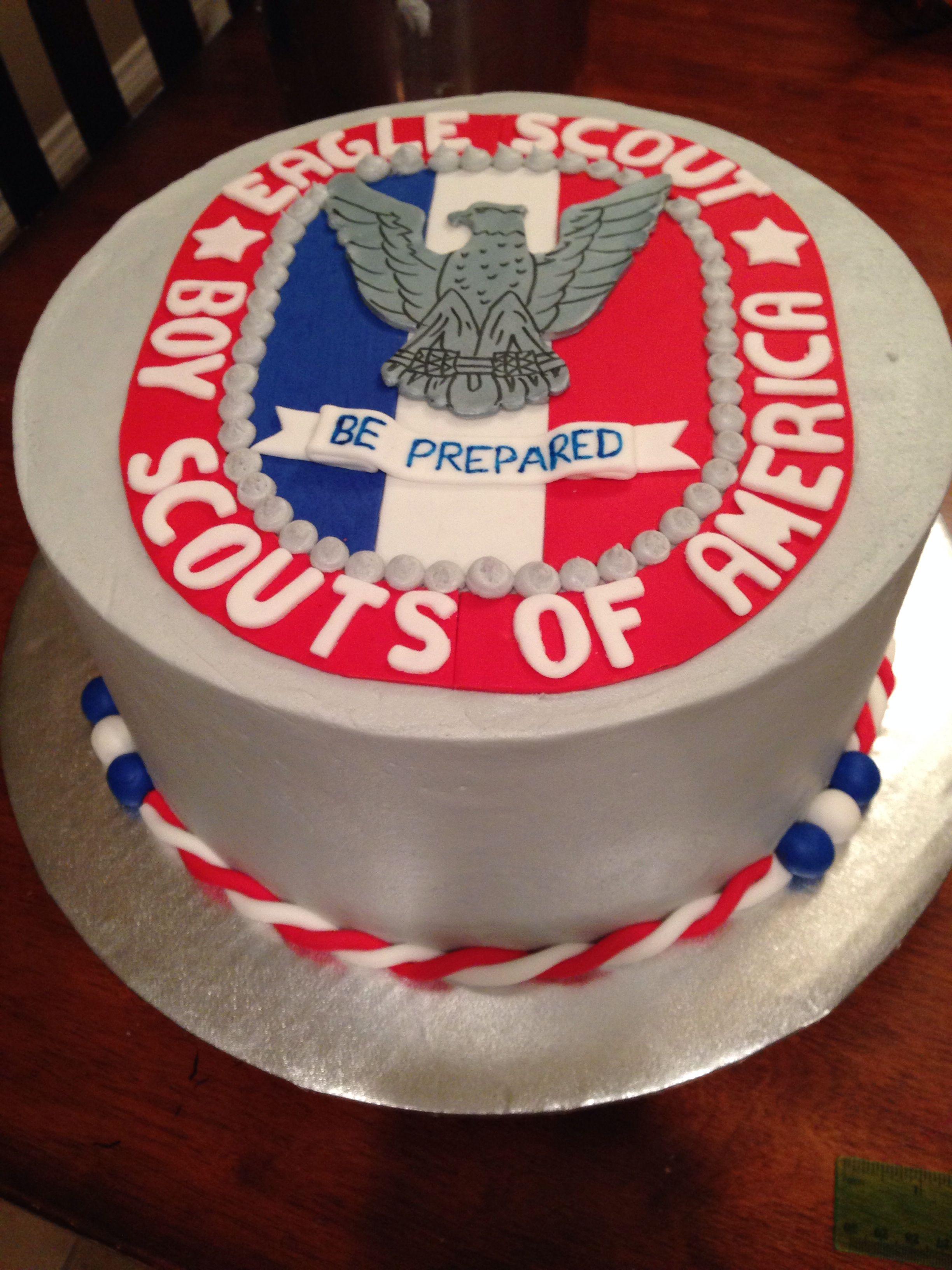 Boy Scout Eagle Scout Cake Eagle Scout Cake Cake Boy Scouts Eagle
