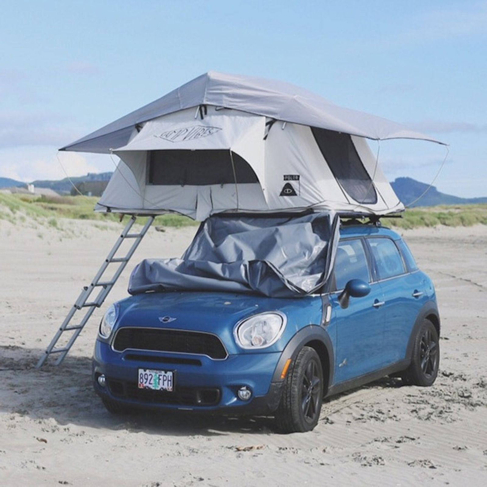Three Rooftop Tents for Summer Adventures : mini cooper roof top tent - memphite.com