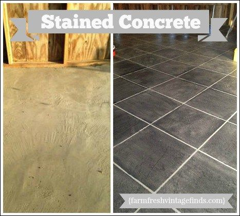 Bon Concrete Patio Pavers Made Into A Beautiful Sidewalk! Learn How To Update  Pavers With Stain!