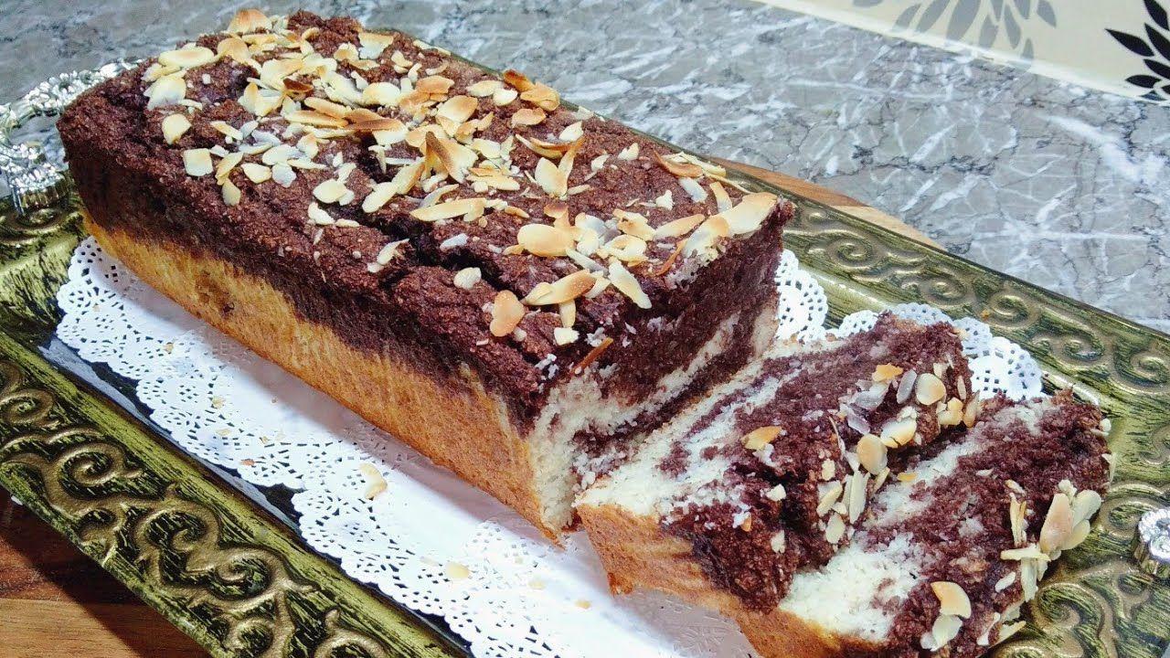 كيكة مبشور جوز الهند بديل دقيق اللوز مناسبة لحمية كيتو دايت ومرضى السكري Desserts Food Banana Bread