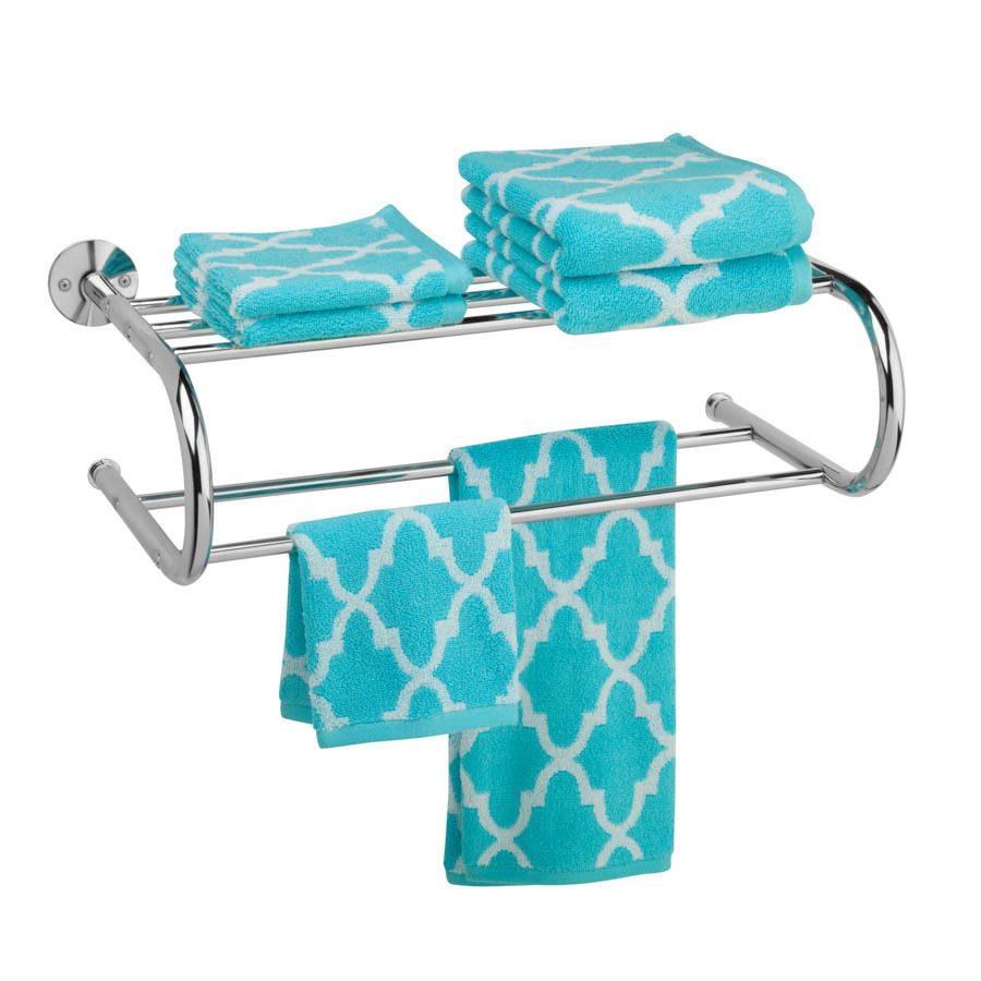 Chrome Wall Mount Towel Rack | Overstock.com Shopping - The Best ...